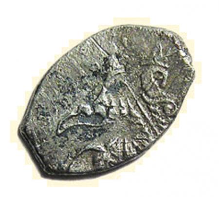 Копейка совместного правления Ивана Алексеевича и Петра Алексеевича (1682 - 1696)